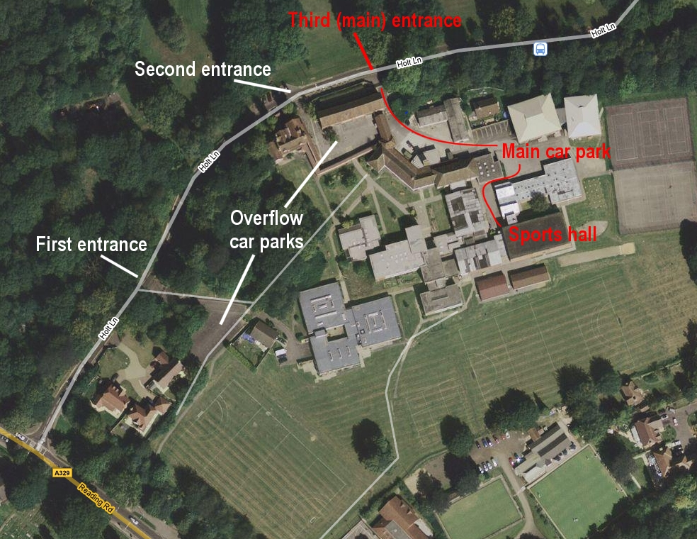 The Holt School Map